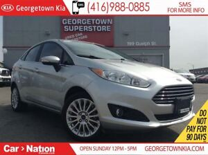 2015 Ford Fiesta Titanium| 36KMS| LEATHER| SUNROOF| BACKUP CAM