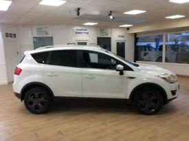 FORD KUGA 2.0 TITANIUM TDCI AWD 5d 134 BHP 6 MONTHS WARRANTY (white) 2009