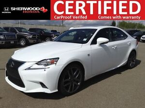 2015 Lexus IS 350 F-Sport 2 AWD | HEATED STEERING | LEATHER | NA