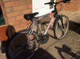 Men's bike for sale, needs attention,