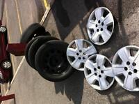 4 summer tires 215/60 R17