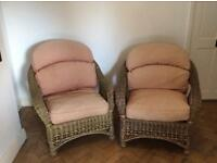 FREE. St Helens conservatory settee and 2 chairs