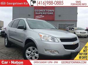 2011 Chevrolet Traverse 1LS AWD| 8 SEATER| FOG LIGHTS| CLEAN CAR
