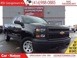 2015 Chevrolet Silverado 1500 4X4| TOW PACKAGE| ONE OWNER| 35,30