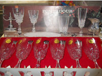 6 LEAD CRYSTAL GLASSES