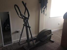 Keep fit stepper and bike
