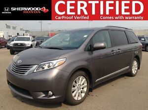 2015 Toyota Sienna XLE AWD | NAVI | BLUETOOTH | HEATED LEATHER