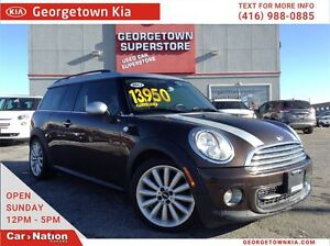 2012 MINI Cooper Clubman LEATHER   DUAL ROOFS   ALLOYS   RACING