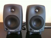 Genelec 8020c speakers