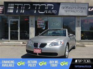 2007 Pontiac G6 GT ** Hardtop Convertible, Low Kms **
