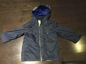 Boys GAP Fall/Spring Jacket with inner fleece vest shell