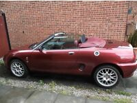 MGF 75TH ANNIVERSARY MODEL FOR SALE