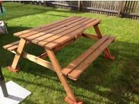 Garden table - bench
