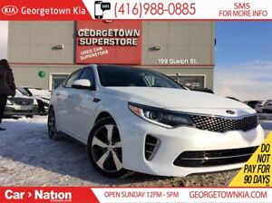 2016 Kia Optima SX Turbo | NAVI | LEATHER | PANO ROOF | LOW KM |