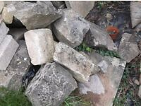 Stone Walling /Rockery stones in various sizes
