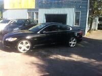 2009 Jaguar XF Supercharged-nav cam recule