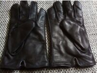 Leather gloves Tommy Hilifiger