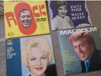 QUANTITY RECORDS LPS VINYLS WHATEVER YOU WANT TO CALL THEM,X 12, RARE WITH ORIGINAL COVERS,OFFERS