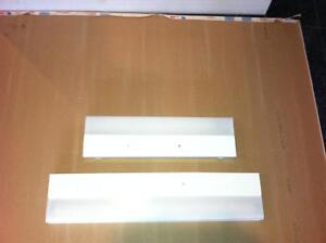 White Hardwire Fluorescent Undercabinet Lighting