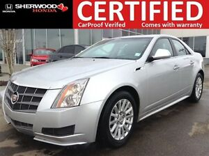 2011 Cadillac CTS AWD   HEATED LEATHER   PANORAMIC   ON STAR   A