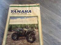 Yamaha Kodiak + Big Bear clymer manuel 1993 - 1998
