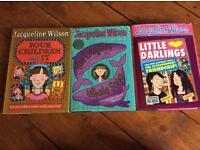 Hardback Jaquline Wilson Books