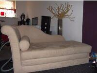 Chaise lounge Sofa / Sofa bed