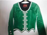 Girls highland dancing kilt outfit