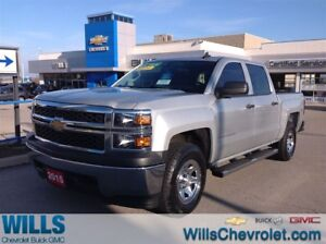 2015 Chevrolet Silverado 1500 LS CREW CAB 4X4 | BLUETOOTH | ONE