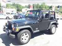 2005 Jeep TJ SE,6 SPEED,UNDERCOATED,2.4L 4 CYL,NEW SAFETY!!
