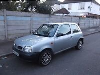 nissan micra 2000 only 37000 miles mot 4 months