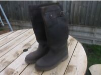 Cabotswood wide fitting yard, shooting boots size 10