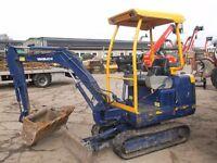 Takeuchi TB016 1.5 ton Mini Digger