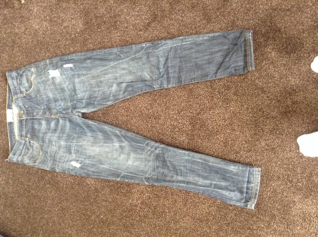 "Crafted Denim Jeans 34"" waist X 32"" leg"