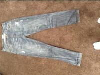 "Crafted Denim Jeans 34"" waist X 32"" leg"