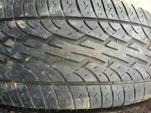 2 - Dunlop All Season Tires with Good Tread - 215/55 R16