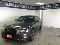 2015 Chrysler 300 S, Leather, Face Lift!!! Low KM, Carproof Clea