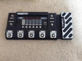 Digitech RP500 Pedal station