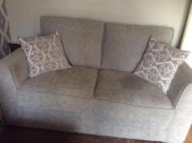 Ashridge 2 Seater Sofa Plus Snuggler Armchair, from Furniture Village