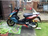 aprilia sr50 r 2006 unfinished project