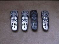Sky HD remote control (4 to choose from)