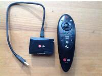LG Smart remote and wifi Bluetooth dongle