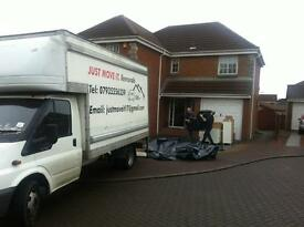 JUST MOVE IT. MAN AND VAN SERVICES