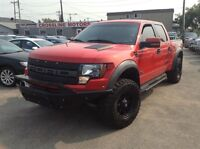 2011 Ford F-150 RARE SVT Raptor W/BOSS 6.2L - LOW PAYMENT