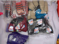 157 pairs legwarmers assorted colours