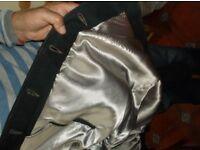 Hand-made lined nubuck jacket, hardly worn, size 40