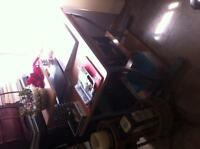 Computer Desk & Chair - For Sale