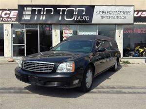 2004 Cadillac DeVille ** Hearse, Low Kms, Great Condition **
