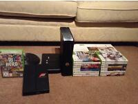 Xbox 360 w/ controller + Kinect + assortment of games (will take offers)