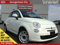 2012 Fiat 500C POP | AUTO | TOP DOWN | CLEAN CARPROOF |